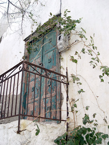 Blue Door, Naxos Greece