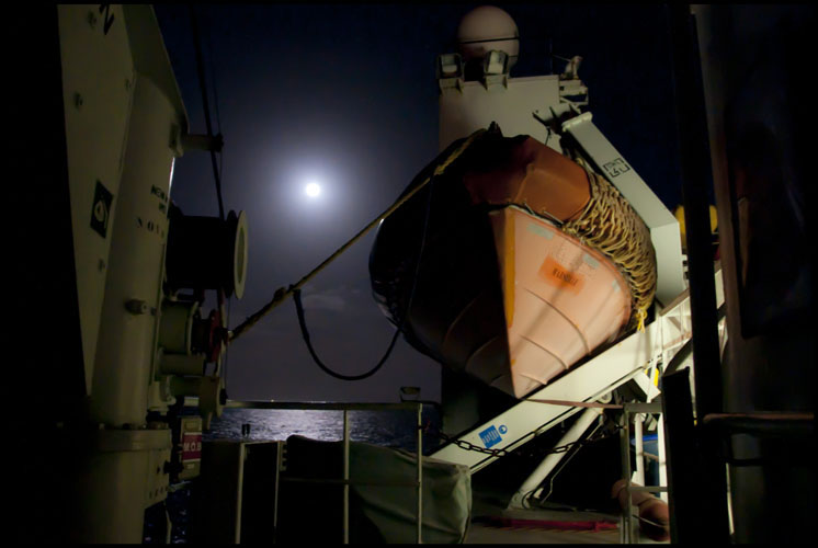 LifeBoat and Moon